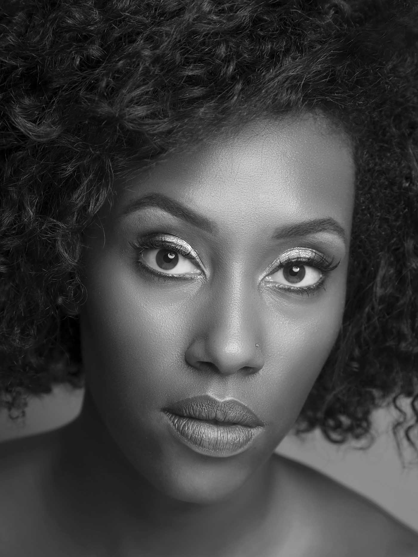African American Woman Photo Retouch by Mitch Heider